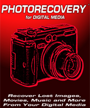 Photo Recovery for Digital Media
