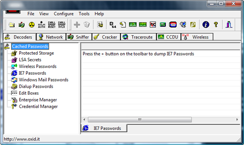 Cain Abel Windows Vista