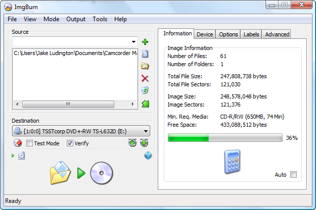 Download ImgBurn Version 2.5.8 Terbaru 2013