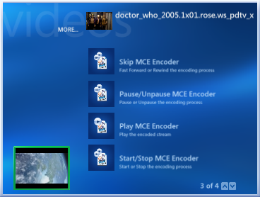 MCE Video Encoder Screenshot