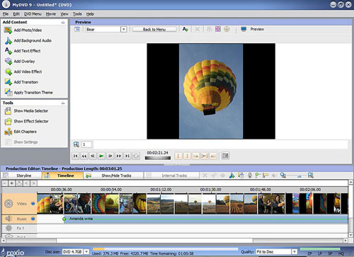 MyDVD for Movie Authoring