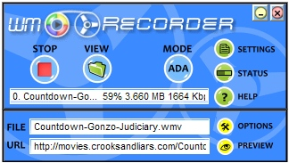 WM Recorder Download Streaming Video